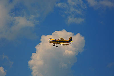 Photograph - Air Plane by Ronald Olivier