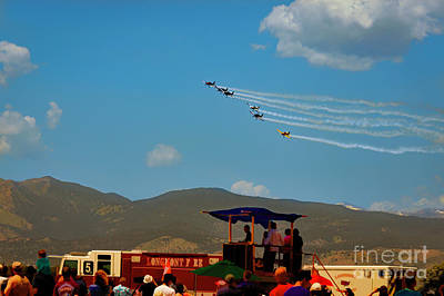 Photograph - Air Show by Jon Burch Photography
