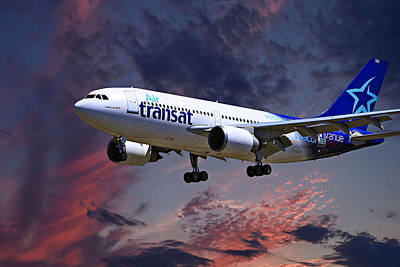 Airbus Photograph - Air Transat by Nichola Denny