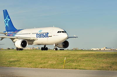 Photograph - Air Transat by Puzzles Shum