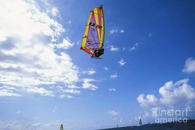 Jason Day Photograph - Airborne Over A Calm Ocea by Erik Aeder - Printscapes
