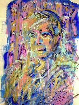 Airbrush 2 Art Print