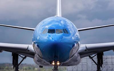 Photograph - Airbus A330-200 Ar by Hernan Bua