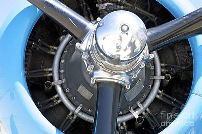 Photograph - Aircraft Engine by Pamela Walrath