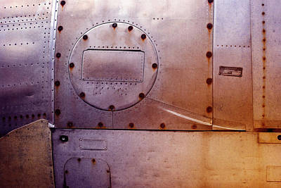Photograph - Aircraft Panel 2 by WB Johnston