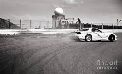 Airfield Drifting Art Print by Andy Smy