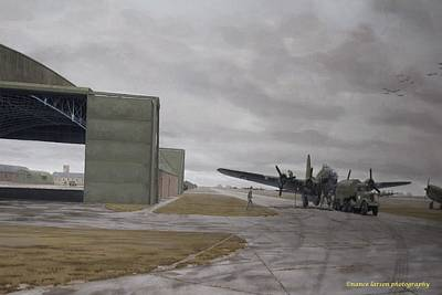 Photograph - Airfield by Nance Larson