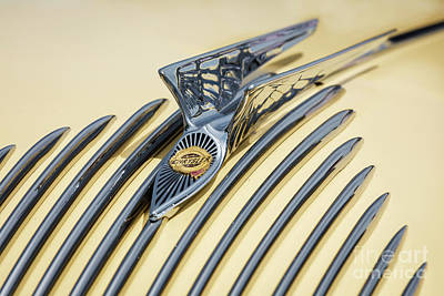Photograph - Airflow Hood Ornament by Dennis Hedberg