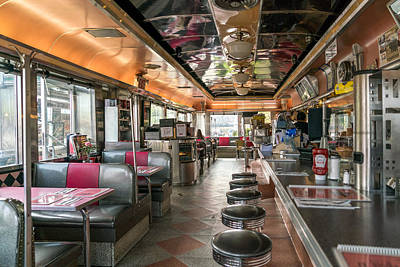 Airline Diner Original by Alexis Fleisig