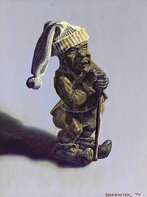 Painting - Airomi's Leprechaun by Phil Chadwick