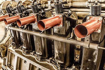 Photograph - Airplane Engine by Mark Holcomb