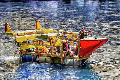 Photograph - Airplane Float by John Haldane