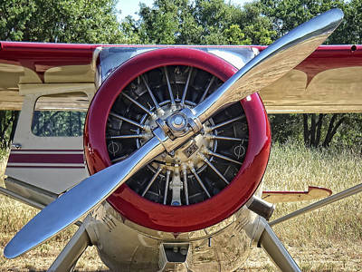 Photograph - Airplane Prop by Waterdancer