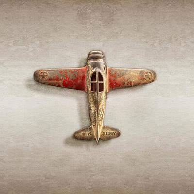 Airplane Scrapper Art Print by YoPedro