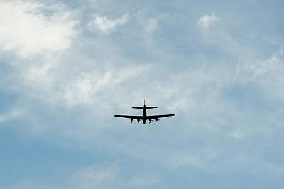 Photograph - Airplane Silhouette Minimalist  by Terry DeLuco