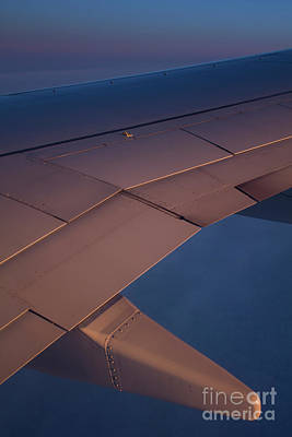 Photograph - Airplane Sunset Portrait by Donna L Munro