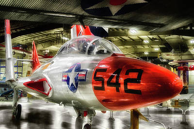 Airplanes Military Jet Pa 06 Art Print by Thomas Woolworth