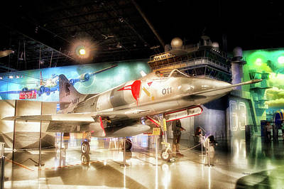 Airplanes Military Navy Jet Pa 08 Art Print by Thomas Woolworth