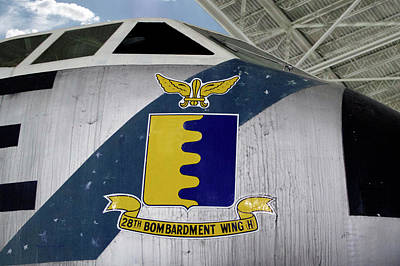Warbird Mixed Media - Airplanes Military Strategic Air Command 28th Bombardment Wing H Decal by Thomas Woolworth