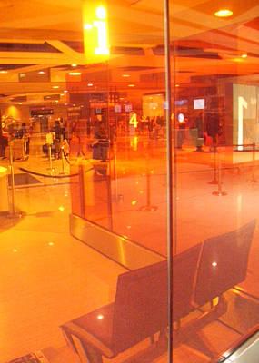 Airport-terminal Art Print