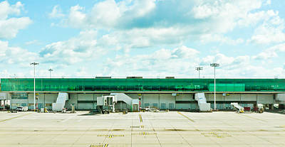 Airport Terminal Print by Tom Gowanlock