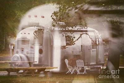 Airstream Double Art Print by Susan Grube