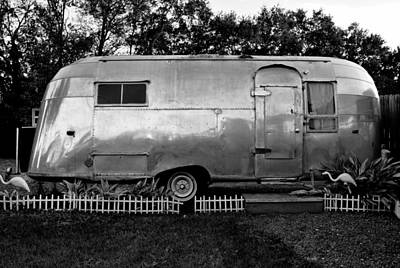 Art Mobile Photograph - Airstream Life by David Lee Thompson