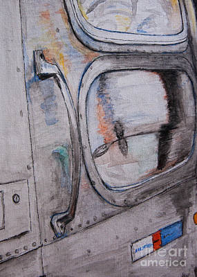 Painting - Airstream Watercolor Sketch by Amber Woodrum