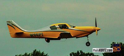 Photograph - Airventure Yellow Racer by Jeff Kurtz