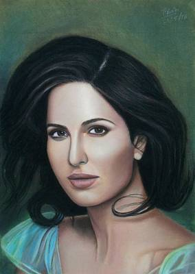 Painting - Katrina Kaif - The Wonder by Vishvesh Tadsare