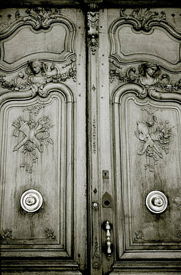 Photograph - Aix Door by Shaun Higson