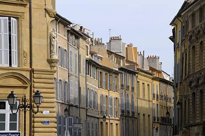 Europe Provence Aix-en-provence Photograph - Aix En Provence by Kevin Oke