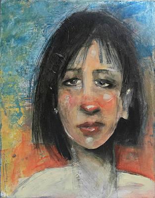 Painting - AJA by Tim Nyberg