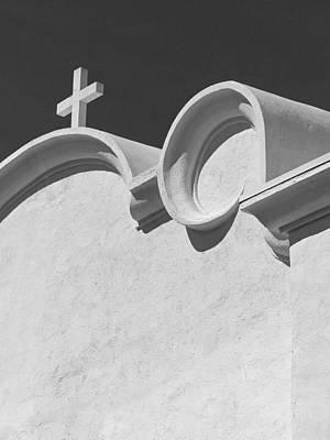 Photograph - Ajo Churches - 17 by Jeff Brunton