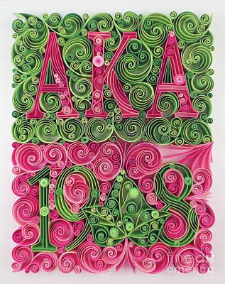 Aka 1908 Art Print