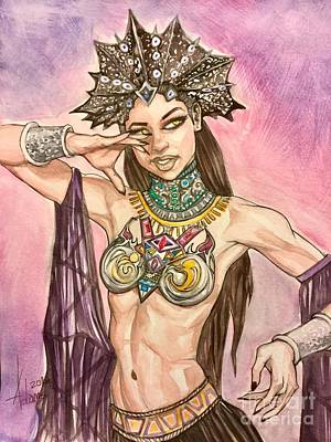 Painting - Akasha  by Jimmy Adams