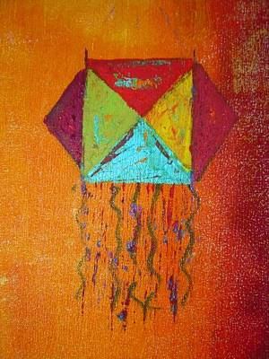 Pietyz Contemporary Art Painting - Akashdeep by Piety Dsilva