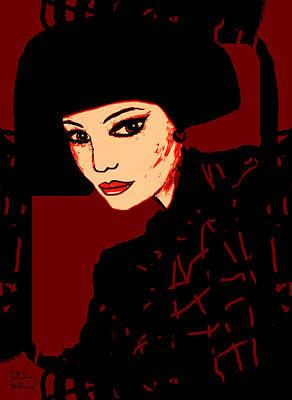 Akemi Art Print
