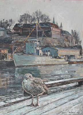 Akershus Seagull Original by Andrei Belevich