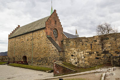 Photograph - Akershus by Suzanne Luft