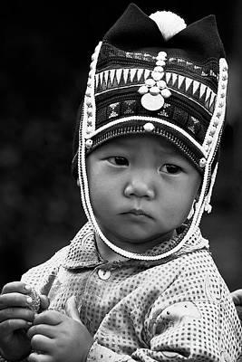 Photograph - Akha Child - Burma by Craig Lovell