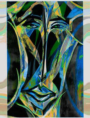 Akhnaton Art Print by Noredin Morgan