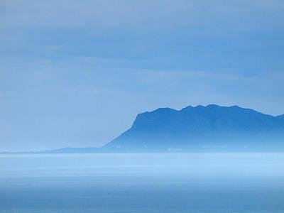 Photograph - Akrotiri Peninsula Morning Haze by Jouko Lehto