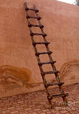 Photograph - Al Ain Ladder by Barbara Von Pagel