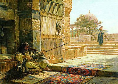 Photograph - Al Aqsa Gustav Bauernfeind by Munir Alawi