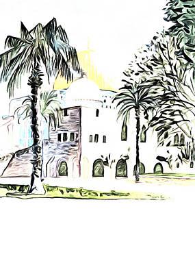 Photograph - Al Aqsa Palm Trees by Munir Alawi