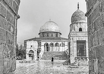 Photograph - Al Aqsa Wall by Munir Alawi