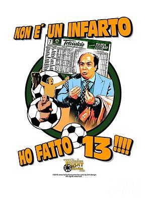 Lino Digital Art - Al Bar Dello Sport by Italian Funny Movies