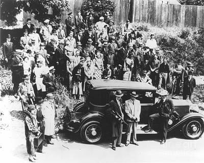 Photograph - Al Capone (1899-1947) by Granger