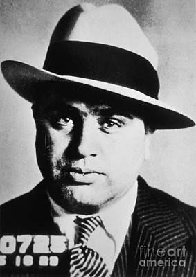 Infamous Photograph - Al Capone by American School